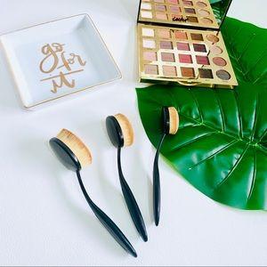 Ulta • Oval Head Blending Makeup Brush Set 3pcs